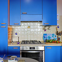 The little kitchen of the Apartment