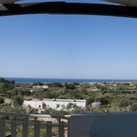 The panoramic view from the terrace ot the Apartment